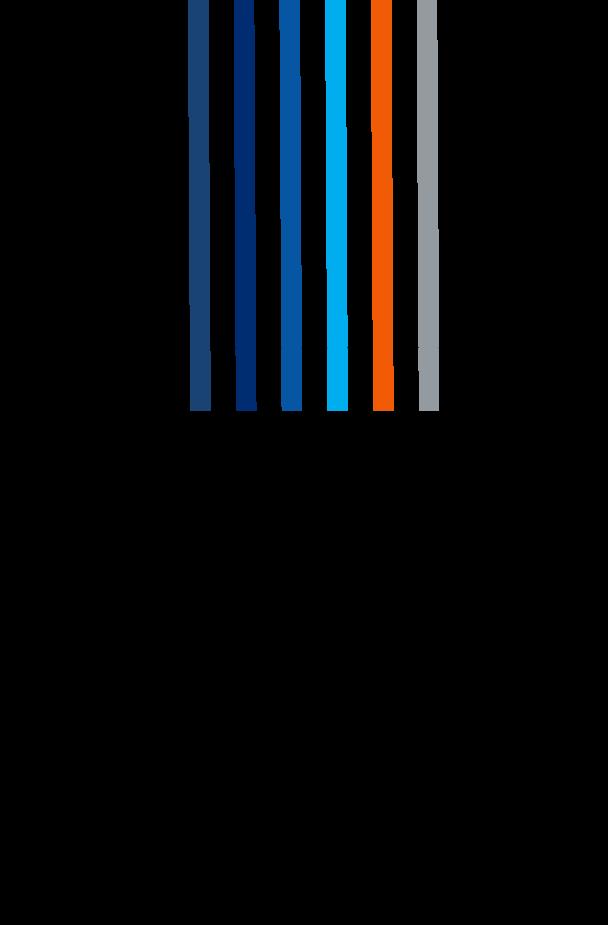 colour stripes flowing into box